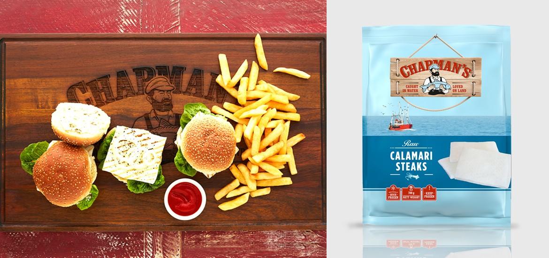 Calamari Steak Burgers