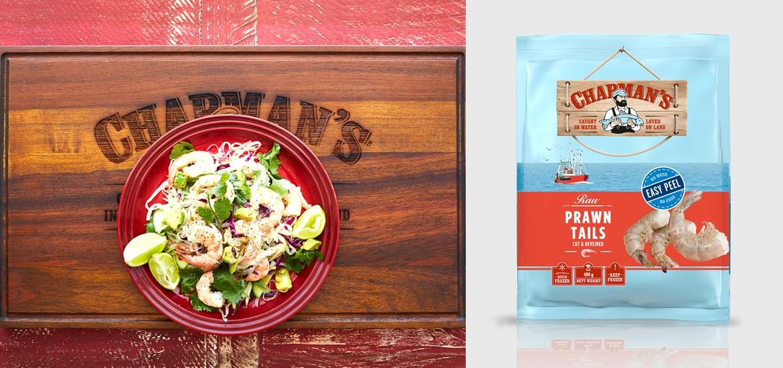 Chapman's Asian Prawn Salad